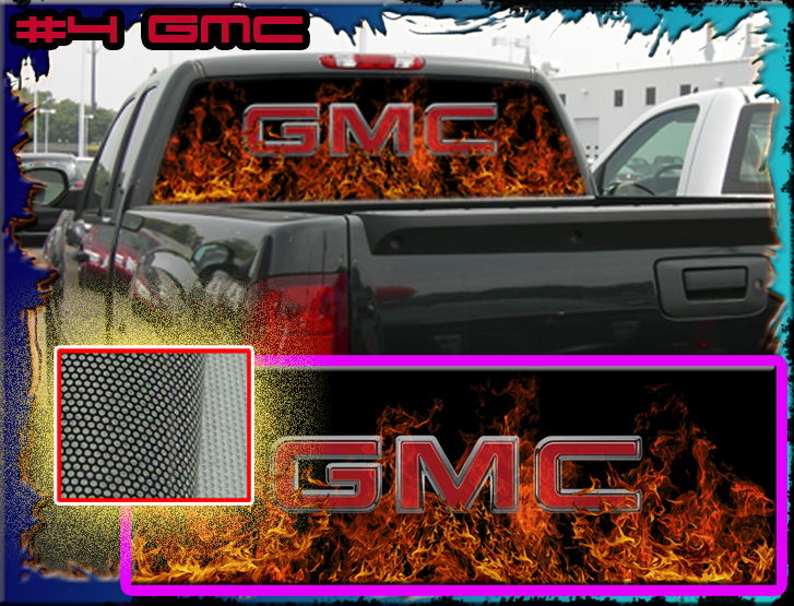 Graphics For Gmc Truck Rear Window Graphics Wwwgraphicsbuzzcom - Rear window hunting decals for trucksgeese scenery sticker for rear window hunting decals for trucks